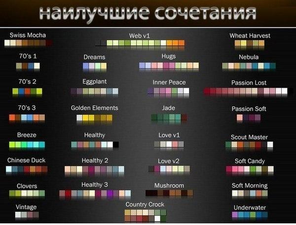Как правильно сочетать цвета в одежде: