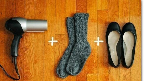 Как разносить новые туфли за 2 минуты