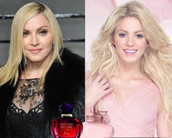 Мадонна, Шакира и ароматы, которые ненавидят мужчины