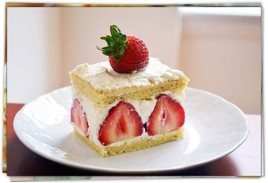 Самое вкусное пирожное с клубникой
