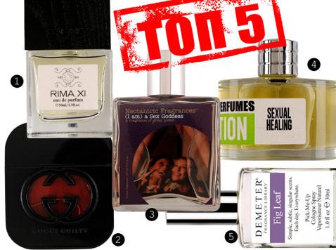 Топ-5 самых сексуальных ароматов