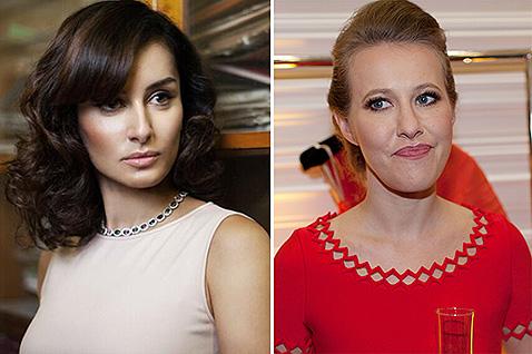 «Заклятые подруги» Тина Канделаки и Ксения Собчак
