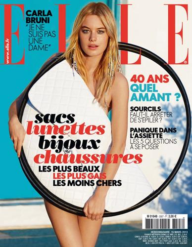 Обложка французского Elle, март-2013