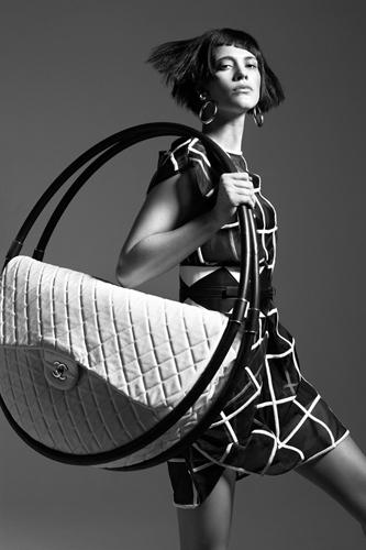 Съемка во французском издании Glamour, февраль-2013