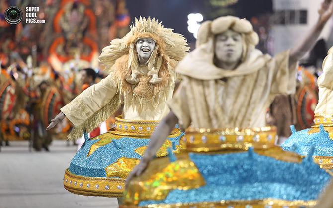 Главное шоу всей Южной Америки — бразильский карнавал