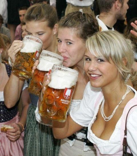 Пиво губит красоту и здоровье женщины