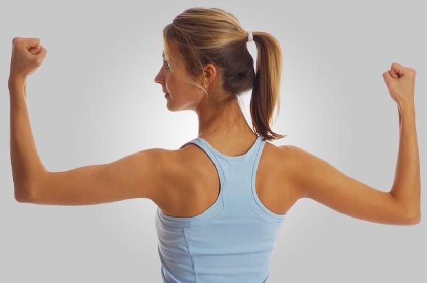 Красивая женская спина фото