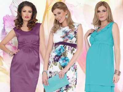 Мода для беременных весна 2013