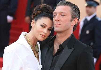 Моника Белуччи и ее муж Венсан Кассель