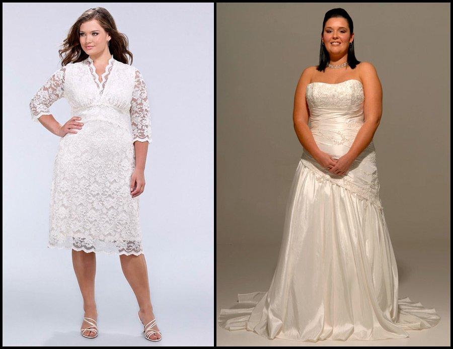 Свадебные платья для разных фигур