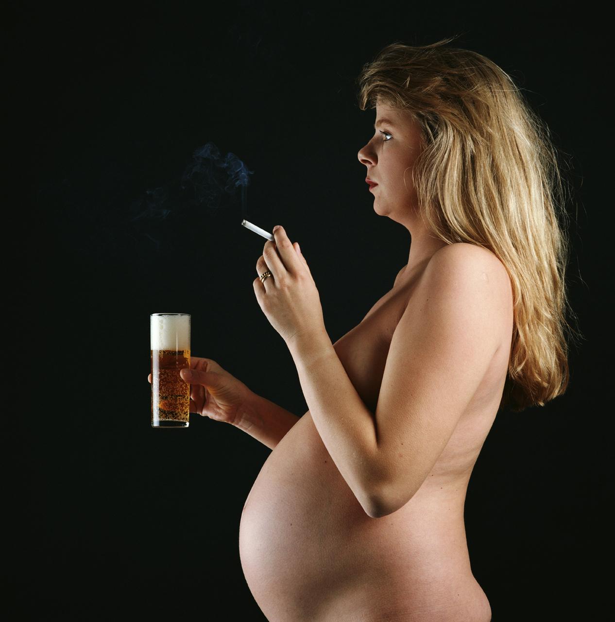 Курение и алкоголь при беременности