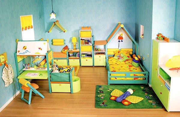 Оформление детской комнаты своими руками