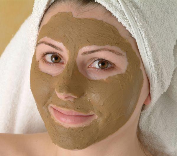 Очищающая маска для лица с глиной