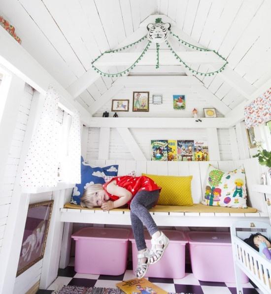 Детская игровой домик своими руками фото