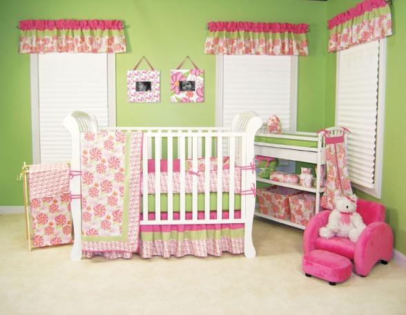 Оформления детской комнаты для новорожденного