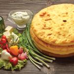 Осетинские пироги: рецепт, фото.