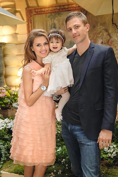 Виктория Боня, Алекс Смерфит и дочь