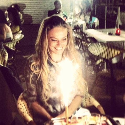 Алена Водонаева показала фото со своего дня рождения