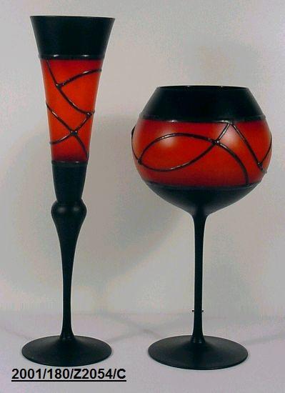 Чешские бокалы ручной работы