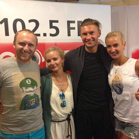 Ольга Бузова в восторге от Левченко