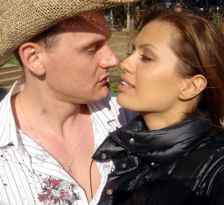 Виктория Боня и Степан Меньщиков