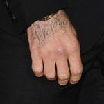 Дэвид Бекхэм посвятил новую татуировку жене
