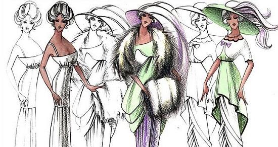 Одежда двадцатого века