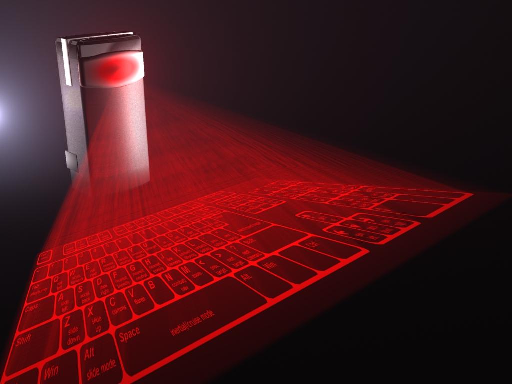 Лазерная клавиатура