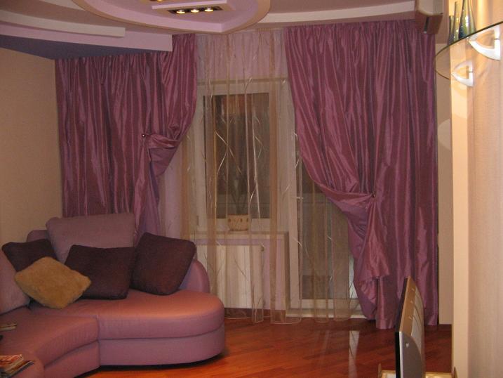 Как выбрать шторы в гостинную