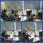 Валерия Мастерко устроилась работать ведущей на радиостанцию