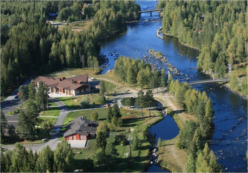 Водопад положительных эмоций и брызги хорошего настроения ждут гостей Финляндии