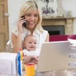 Работа в интернете для молодых мам