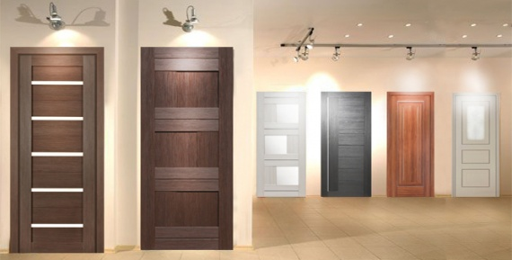 Двери, покрытые экошпоном, прекрасно выглядят и недорого стоят