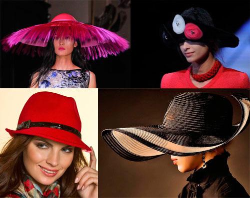 Модные шляпки и головные уборы