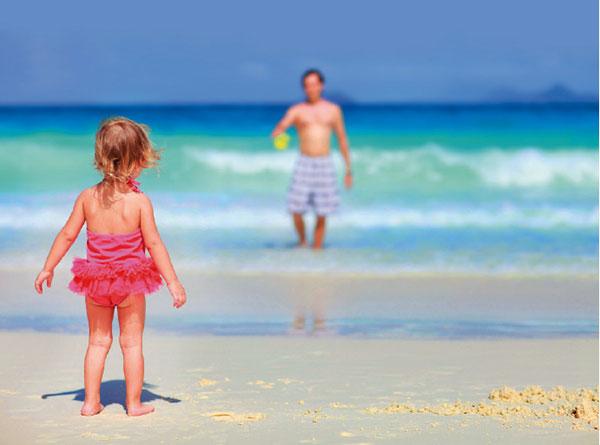 Как одеть ребенка на пляж