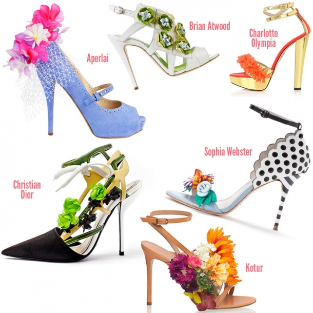 Модная обувь весна-лето 2014