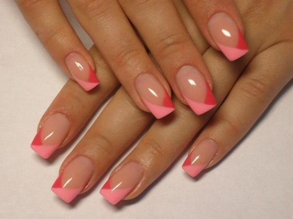 Нарощенные ногти фимо 17