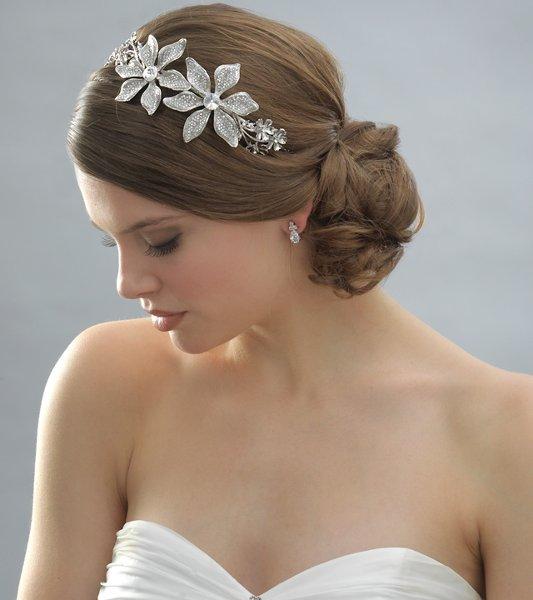 Свадебная прическа шишка - 68fe