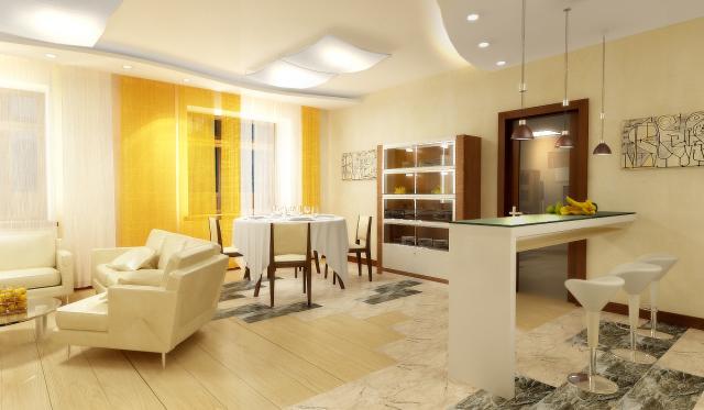 Примеры дизайна квартиры студии