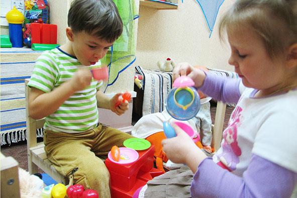 Развитие ребёнка - ролевые игры