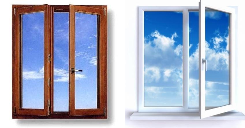 Окна ПВХ или деревянные окна?