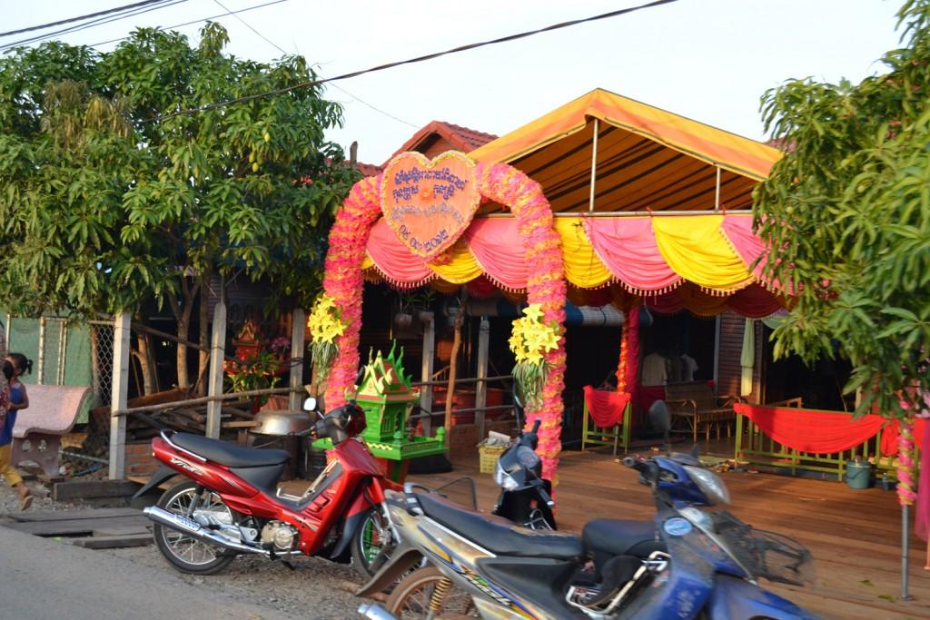 Камбоджийская свадьба