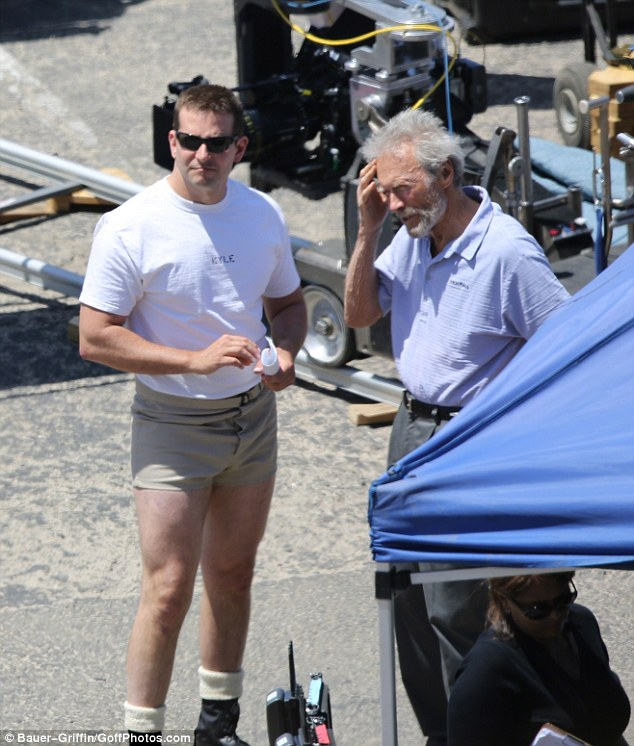 Брэдли Купер ожирел ради фильма «Американский снайпер»