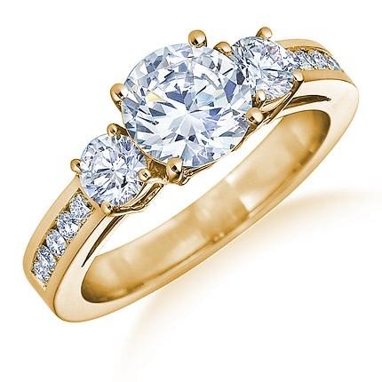 самые красивые кольца фото золотые