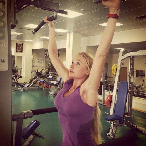 Дарья Пынзарь делает свое тело идеальным