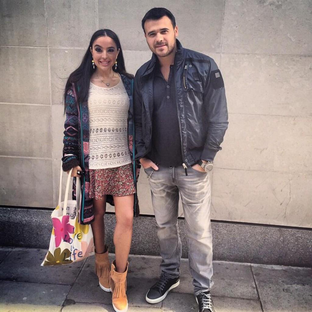 Дочь президента Азербайджана объявила о разводе с Эмином Агаларовым