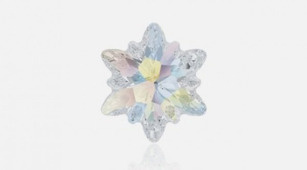 """К 120-летию """"Swarovski"""" выпущены кристаллы в виде цветка эдельвейса"""