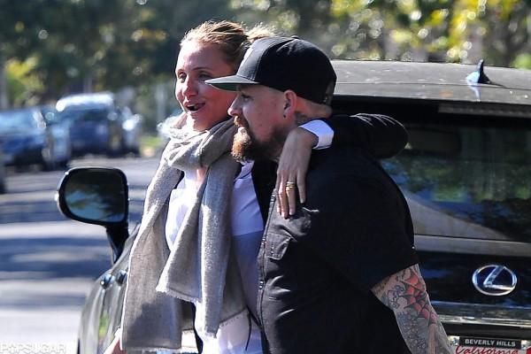 Камерон Диаз с мужем весело провели время с Дрю Берримор