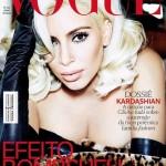 Ким Кардашян в образе Мэрилин Монро на страницах «Vogue»