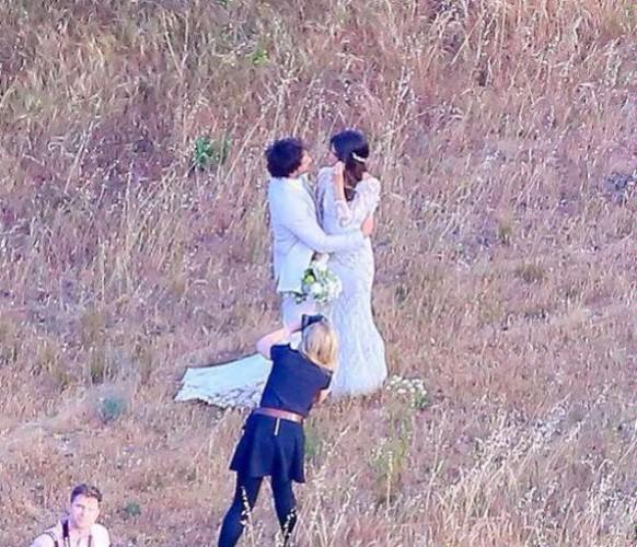Никки Рид выложила в Сеть видео со свадьбы с Иэном Сомерхолдером
